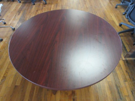 Cherry 42-inch Round Conference Table