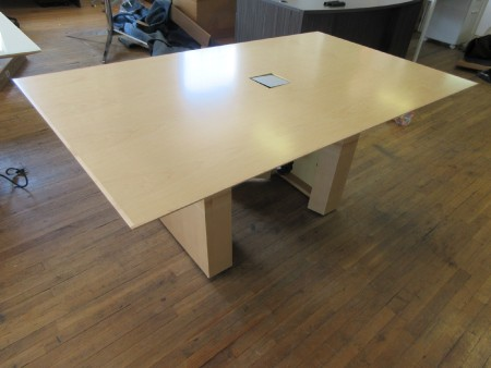 Nucraft 6-ft Maple Conference Table