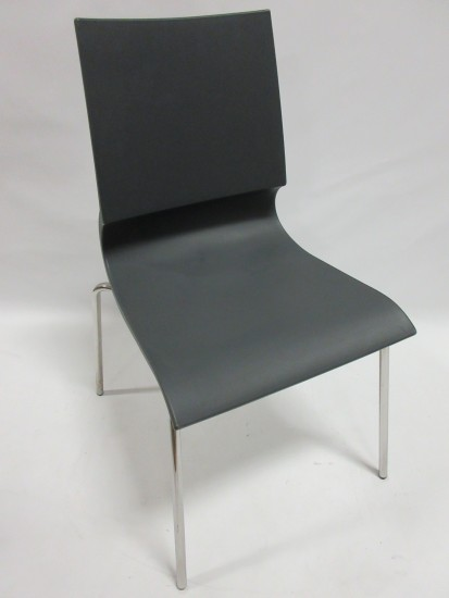 MaxDesign Ricciolina Stacking Chair in Grey