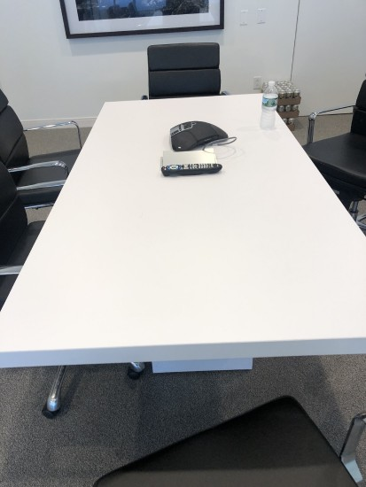 6-foot Conference Table in White