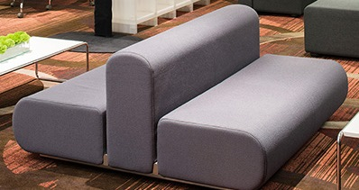 Knoll Suzanne Double (Back To Back) Sofa